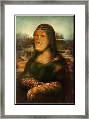 Mona Rilla Framed Print by Gravityx9 Designs