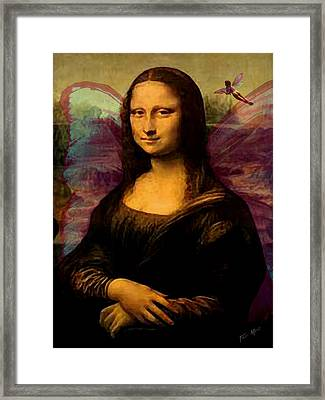 Monalisa The Fairy Framed Print by Tray Mead