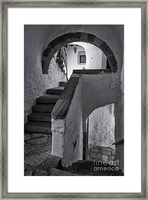Monastery Of Saint John The Theologian Framed Print by Inge Johnsson