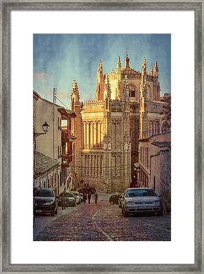 Monastery Of San Juan De Los Reyes Framed Print by Joan Carroll