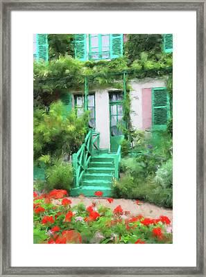 Monet's Backdoor Framed Print by Gary Grayson