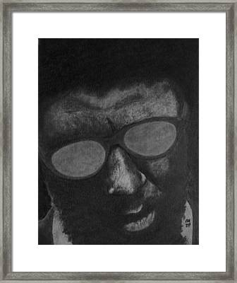 Monk Framed Print by Nick Young