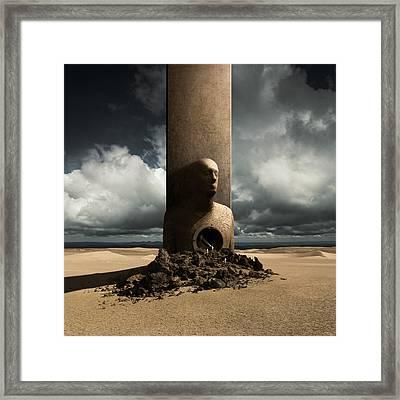 Monolith Framed Print by Michal Karcz