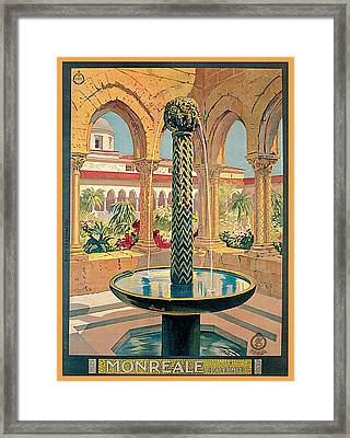 Monreale Palermo Framed Print by Vittorio Grassi