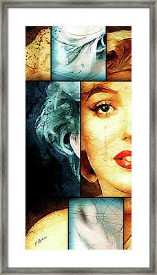 Monroe Panel A Framed Print by Gary Bodnar