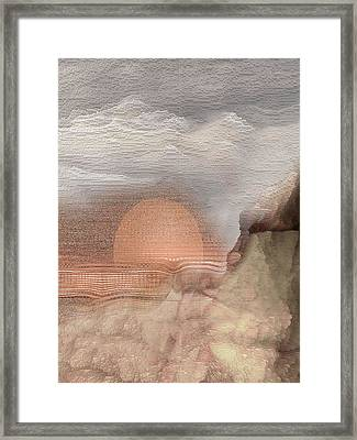 Monsoon Framed Print by James MacColl