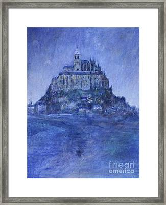 Mont St Michel Framed Print by Andy  Mercer