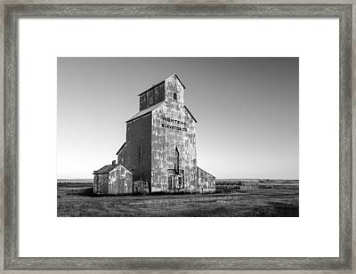 Montana Elevator Company Framed Print by Todd Klassy