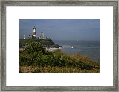 Montauk Point Framed Print by Christopher Kirby