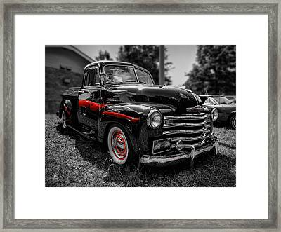 Monte Carlo In The Mirror Framed Print by Lance Vaughn
