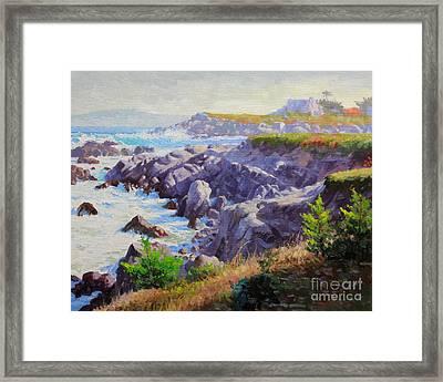 Monteray Bay Morning 1 Framed Print by Gary Kim