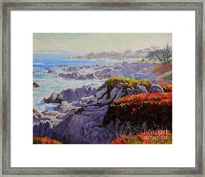 Monteray Bay Morning 2 Framed Print by Gary Kim
