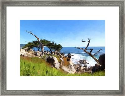 Monterey Framed Print by Gary Grayson