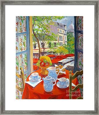 Montmartre Framed Print by William Ireland