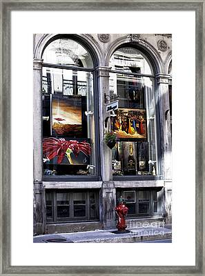 Montreal Art Gallery Framed Print by John Rizzuto