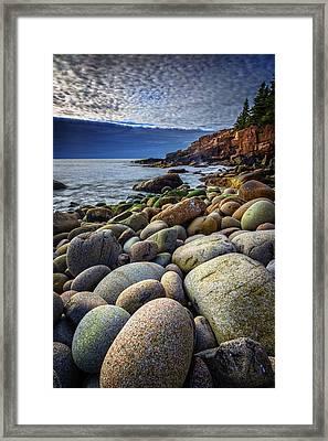 Monument Cove Framed Print by Rick Berk