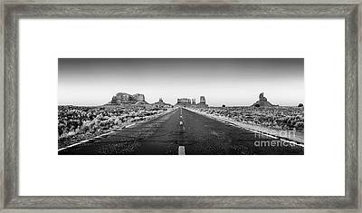 Freedom Bw Framed Print by Az Jackson