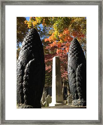 Monuments In The Light  Framed Print by Clay Cofer