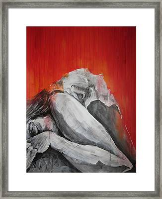 Mood Of Exhaustion Framed Print by Brigitte Hintner