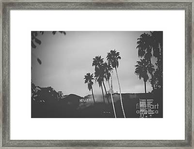 Moody Hollywood Framed Print by Art K