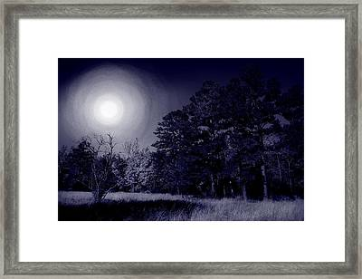 Moon And Dreams Framed Print by Nina Fosdick