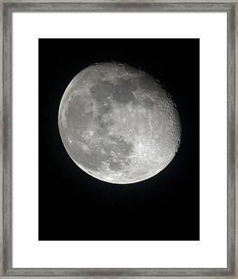 Moon Framed Print by Gary Langley