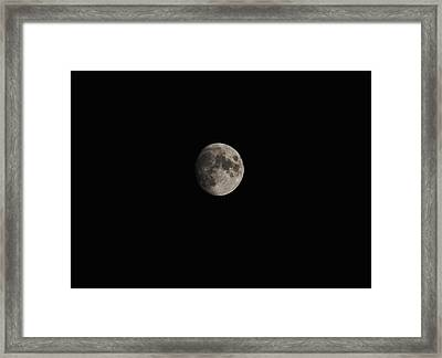 Moon Glow Framed Print by Eric Liller