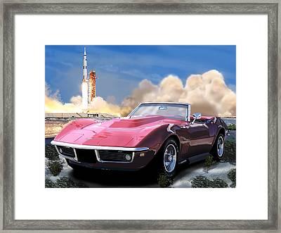 Moon Struck 2 Framed Print by Richard Herron