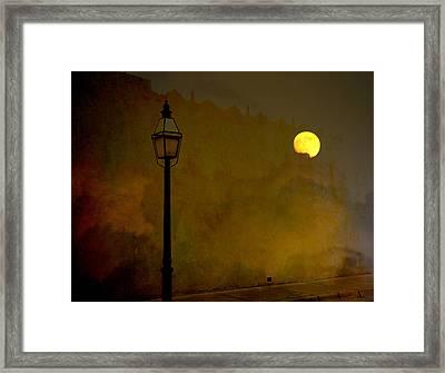 Moon Walker Framed Print by Susanne Van Hulst