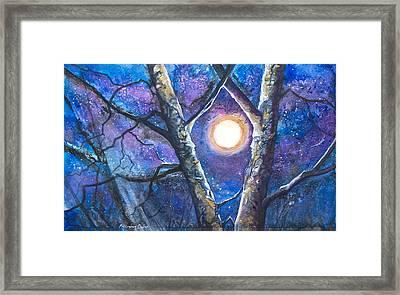 Moondance II Framed Print by Patricia Allingham Carlson