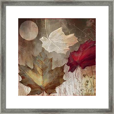 Moonlight In Vermont I Framed Print by Mindy Sommers