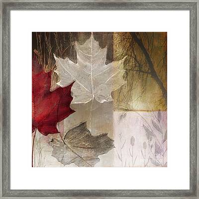 Moonlight In Vermont II Framed Print by Mindy Sommers