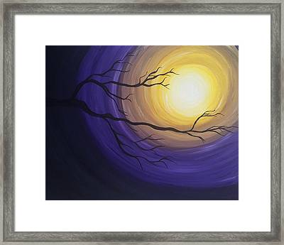 Moonlight Framed Print by Kate R