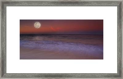 Moonlight Framed Print by Kym Clarke