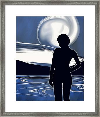 Moonlight Masquerade Framed Print by Mark Wootton
