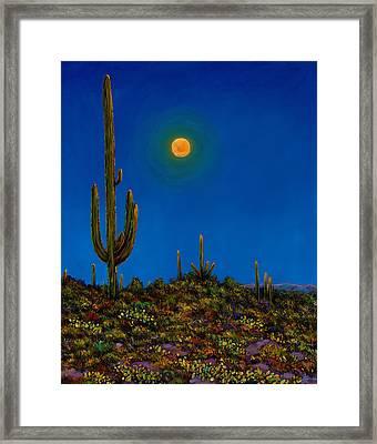 Moonlight Serenade Framed Print by Johnathan Harris