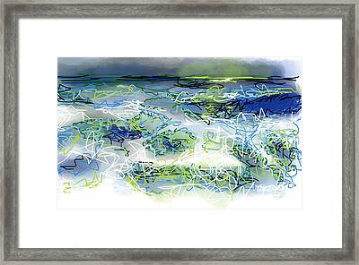 Moonlight Serenade Framed Print by Robert Yaeger