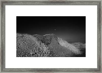 Moonrise Pembroke Pines Framed Print by Stephen Mack