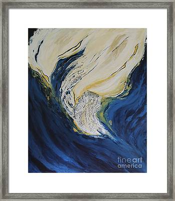 Moonscape Viii Framed Print by Christiane Schulze Art And Photography