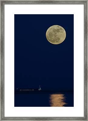 Moonshine Framed Print by Michael Mogensen