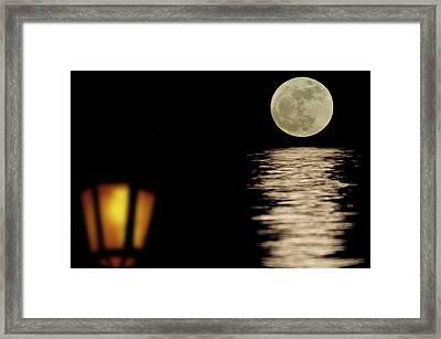 Moonshining Framed Print by Michael Mogensen