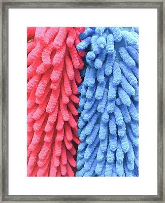 Mop Fabric Framed Print by Tom Gowanlock
