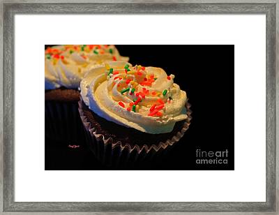 More Cupcakes Framed Print by Cheryl Young