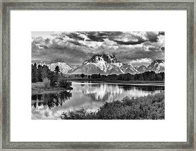 More On The Mountain II Framed Print by Jon Glaser