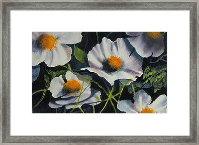 More Poppies Framed Print by Robert Carver