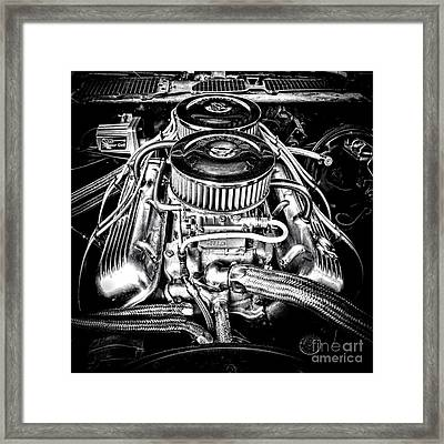 More Power Framed Print by Olivier Le Queinec