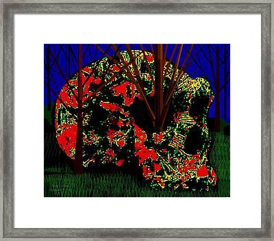 More Skullduggery  Framed Print by Larry Lamb
