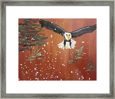 More Snow 18 Framed Print by Cheryl Nancy Ann Gordon