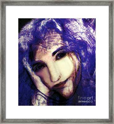 Morgaine Le Fay Framed Print by RC deWinter