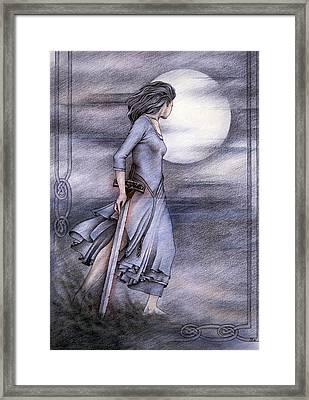 Morgan Le Fay Framed Print by Johanna Pieterman